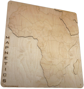 Africa mapnetic