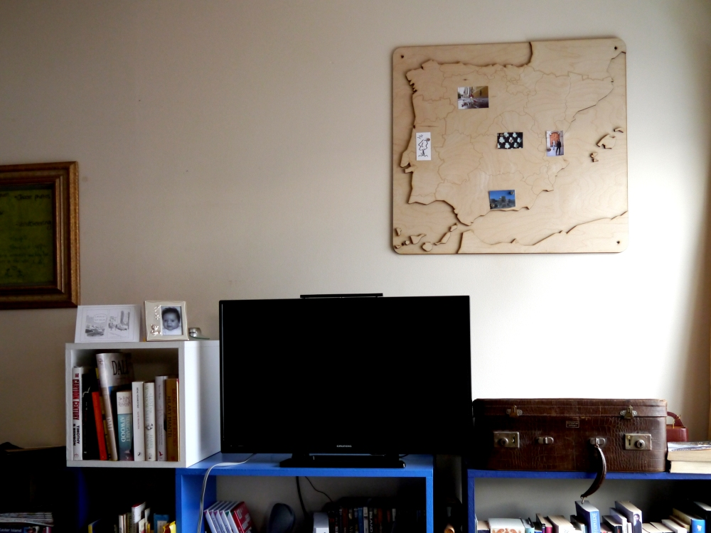 Update: a picture of the Mapnetic in its new home